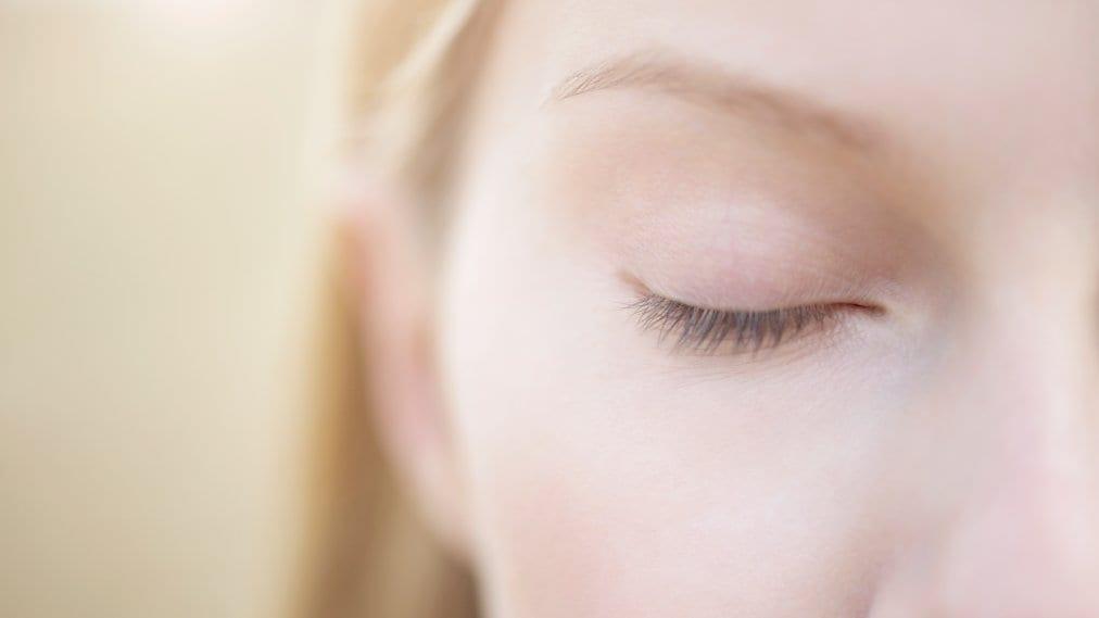 Closed Eye Meditation