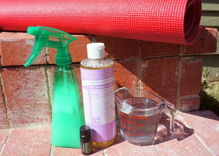 Yoga Mat Cleaning Supplies