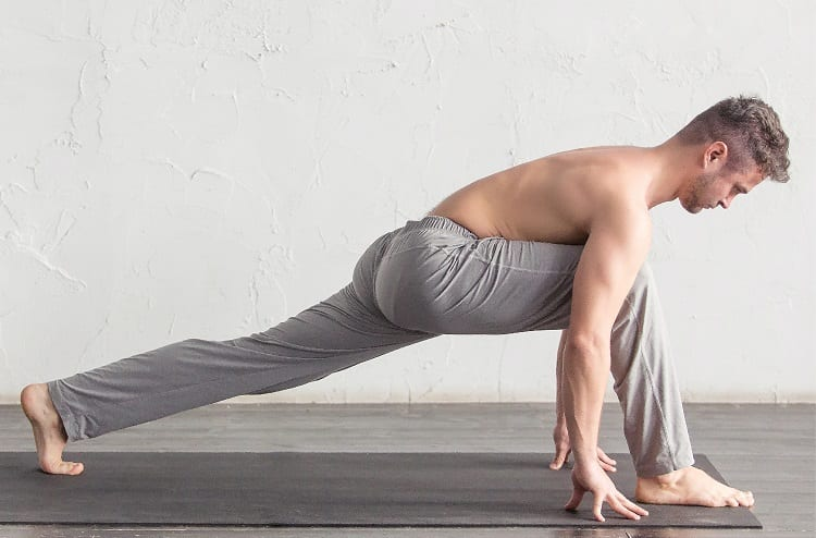 Runners Lunge Pose