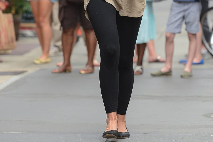 Walking In Leggings