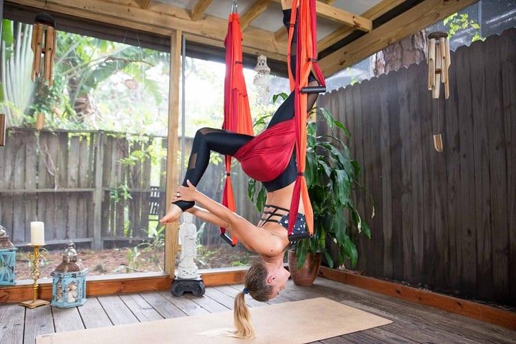 Yoga Trapeze Back Flow