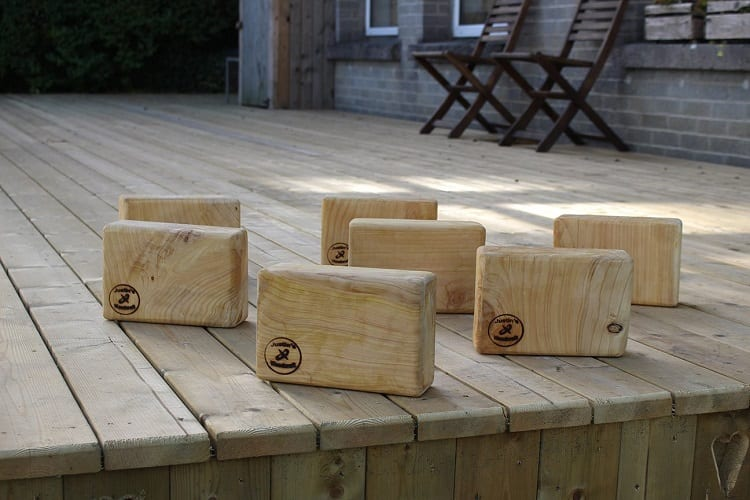 Cypress Pine Yoga Blocks
